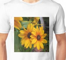 Blossom Where You Are Planted Unisex T-Shirt