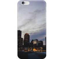 Christmas in Boston iPhone Case/Skin