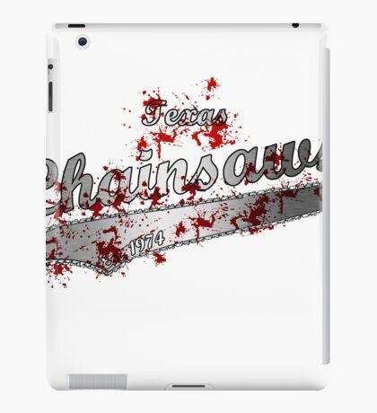 texas Chainsaws iPad Case/Skin