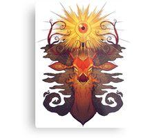 Eye Deer Metal Print
