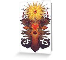 Eye Deer Greeting Card