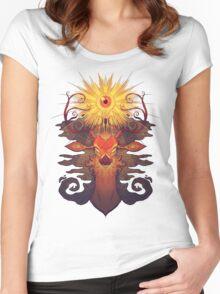 Eye Deer Women's Fitted Scoop T-Shirt
