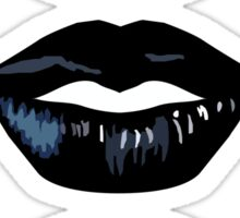 3 Lips Vertical Sticker