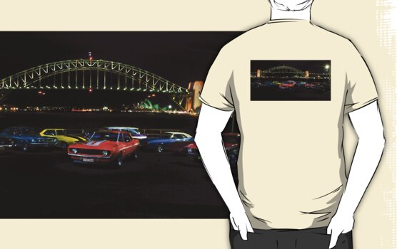 American Muscle on the Harbour by Andrew Felton