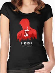 Bioshock Women's Fitted Scoop T-Shirt