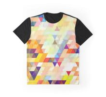 Multicolor triangles Graphic T-Shirt
