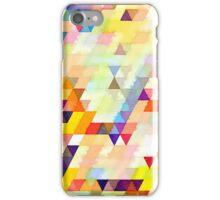 Multicolor triangles iPhone Case/Skin