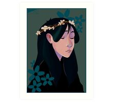 Blossoming Art Print