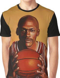 Michael Jordan painting 2 Graphic T-Shirt
