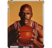 Michael Jordan painting 2 iPad Case/Skin