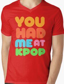 You Had Me At Kpop Mens V-Neck T-Shirt