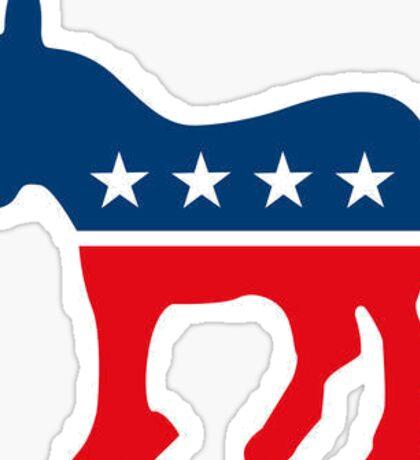 Proud Democrat - Democratic Party Sticker