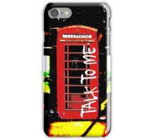 Talk To ME iPhone Case/Skin