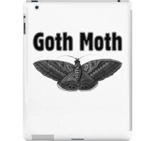 Goth Moth iPad Case/Skin