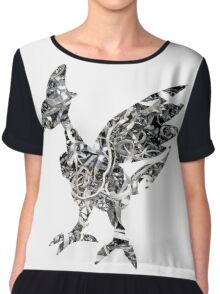 Skarmory used steel wing Chiffon Top