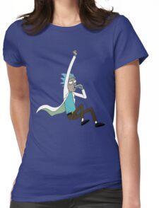 jump drunk rick Womens Fitted T-Shirt