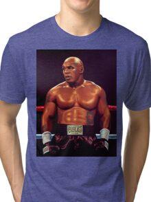 Mike Tyson painting Tri-blend T-Shirt