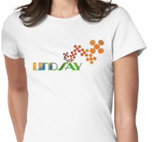 The Name Game - Lindsay Womens Fitted T-Shirt