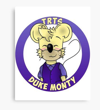 Duke Monty Canvas Print