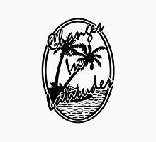 margaritaville changes in latitudes black and white logo jimmy buffett esteh Unisex T-Shirt