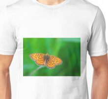 orange butterfly Unisex T-Shirt