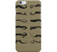 Mustache Chart Version 2 iPhone Case/Skin