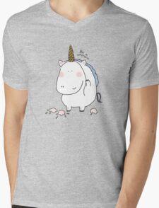 Be a unicorn Mens V-Neck T-Shirt