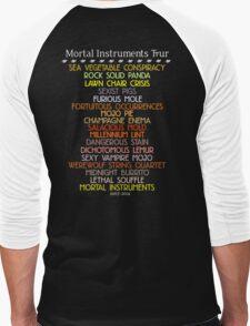 The Mortal Instruments Tour Men's Baseball ¾ T-Shirt