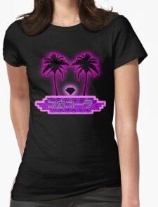 Vapor Wave  Womens Fitted T-Shirt