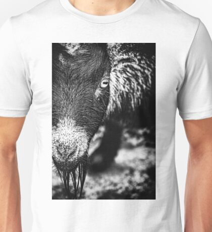 Afrikanische Zwergziege Unisex T-Shirt