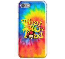 That 70's Toad iPhone Case/Skin