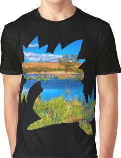 Feraligatr used surf Graphic T-Shirt