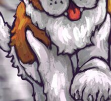 Dog Beers St. Bernard Sticker