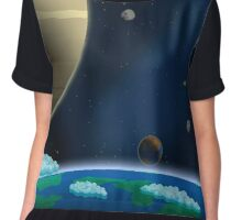 STARBOUND - SPACE Chiffon Top