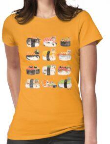 Nekozushi Womens Fitted T-Shirt