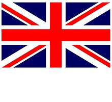 British Union Jack Flag, 3:5 UK, United Kingdom, Army War Flag by TOM HILL - Designer
