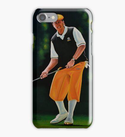 Payne Stewart painting iPhone Case/Skin