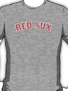 Vintage Red Sux - Blue T-Shirt