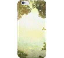 Sky and trees iPhone Case/Skin