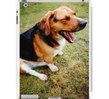 Beagle - Basset Hound Mix iPad Case/Skin