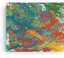 Distorted Colors Canvas Print
