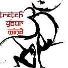 OM Yoga Stretch your mind by ramanandr
