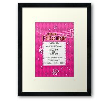 Mickey's Philharmagic Fastpass Framed Print