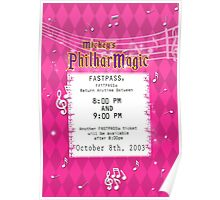 Mickey's Philharmagic Fastpass Poster