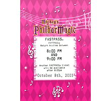 Mickey's Philharmagic Fastpass Photographic Print