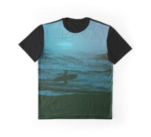 Night Surfer Graphic T-Shirt