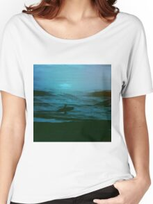 Night Surfer Women's Relaxed Fit T-Shirt