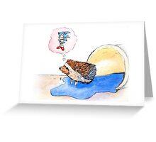 Hedgehog Dreams Big Greeting Card