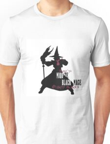 Miqo'te Black Mage Unisex T-Shirt