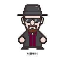 Breaking Bad Icon Set - HEISENBERG by LEMENX